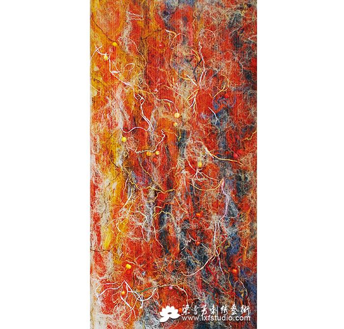 收藏刺绣系列-《生根、开花、结果》