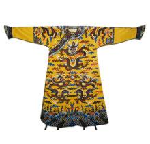 高档刺绣礼服-刺绣龙袍
