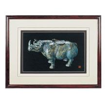 节日刺绣礼品-青铜器 犀牛