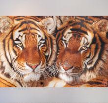 收藏刺绣系列-动物刺绣双虎
